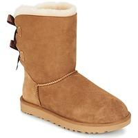 Zapatos Mujer Botas de caña baja UGG BAILEY BOW II Castaña