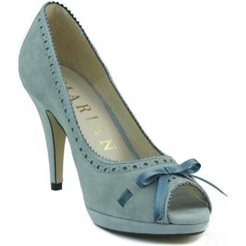 Zapatos Mujer Zapatos de tacón Marian ZAPATO TACON NUBUCK PARA MUJER AZUL