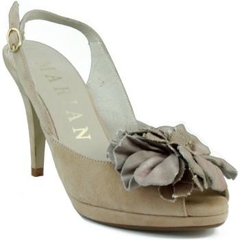 Zapatos Mujer Sandalias Marian NUBUCK W MARRON