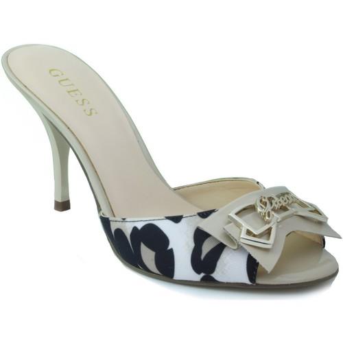 Zapatos Mujer Sandalias Guess LEOPARDO BEIGE