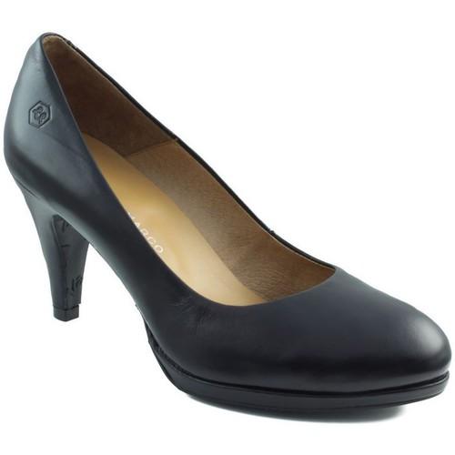 Zapatos Mujer Zapatos de tacón Estefania Marco GAUCHO NEGRO