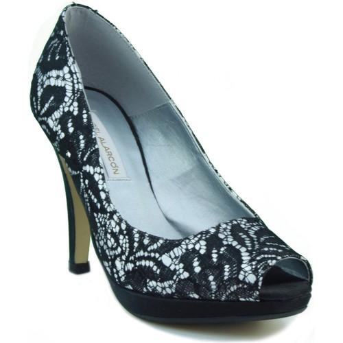Zapatos Mujer Zapatos de tacón Angel Alarcon ANG ALARCON NATALY NEGRO
