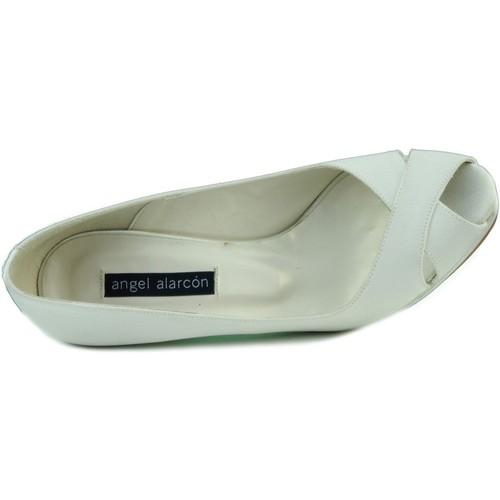 Zapatos Mujer Zapatos de tacón Angel Alarcon RASO OPORTO BLANCO
