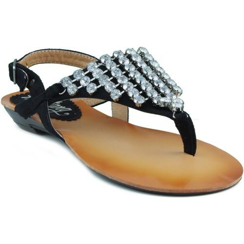 Zapatos Mujer Sandalias MTNG MUSTANG MUJER AFELPADO CAMINHA NEGRO
