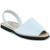 Zapatos Zuecos (Mules) Arantxa MENORQUINA DE PIEL BLANCO