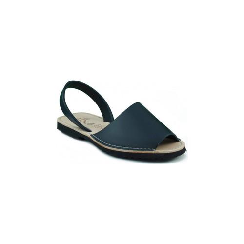 Zapatos Zuecos (Mules) Arantxa MENORQUINA DE PIEL MARINO