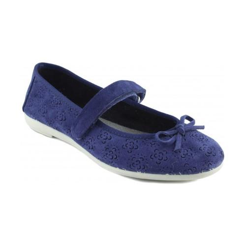 Zapatos Mujer Bailarinas-manoletinas Vulladi VUL LADI SERRAJE TINTA AZUL