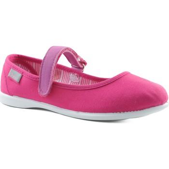 Zapatos Niña Bailarinas-manoletinas Gorila CANVAS FUXIA ROSA