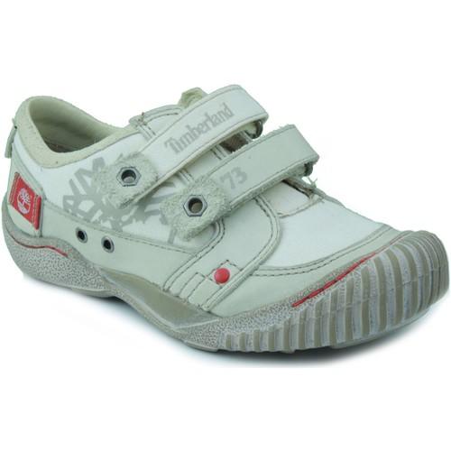Zapatos Niño Zapatillas bajas Timberland KIDS BONE RED BLANCO