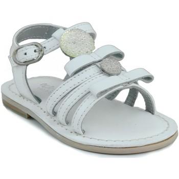 Zapatos Niña Sandalias Oca Loca OCA LOCA SANDALIA BEBE PIEL BLANCO
