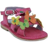 Zapatos Niña Sandalias Oca Loca OCA LOCA  ANTE AD MARIPOSA FUXIA