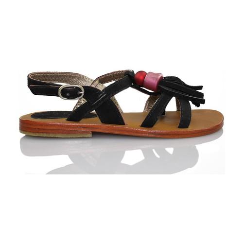 Zapatos Niña Sandalias Oca Loca OCA LOCA FLECOS NEGRO