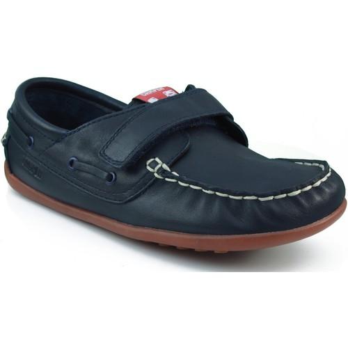 Zapatos Niño Zapatos náuticos Camper CAMPER S KRYPTON DENIM WAY HONEY MARINO