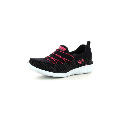 Zapatos Mujer Sport Indoor Skechers Equalizer Absolutely Fabulous Noir