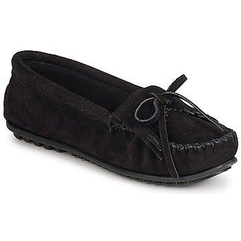 Zapatos Mujer Mocasín Minnetonka KILTY SUEDE MOC Negro