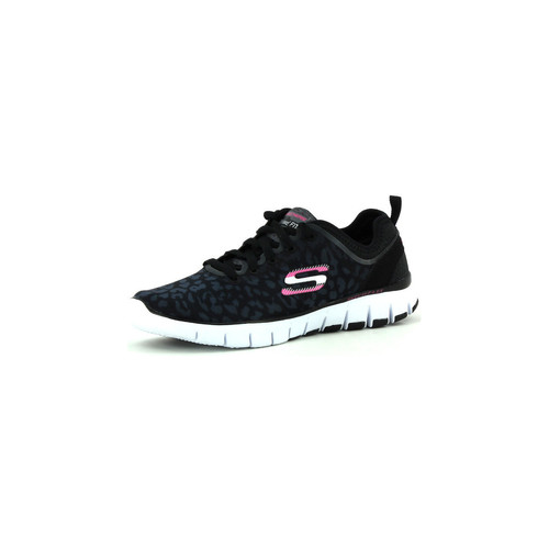 Zapatos Mujer Sport Indoor Skechers Skech-Flex Power Player negro