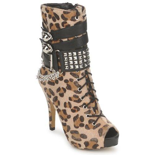 Abbey Bootee Mujer Platform LeopardoPrint Botines Zapatos Dawn c3Tul1KFJ