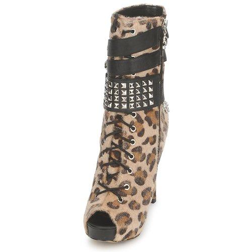 Botines Mujer Platform Dawn Abbey Zapatos Bootee LeopardoPrint orxBeWdC