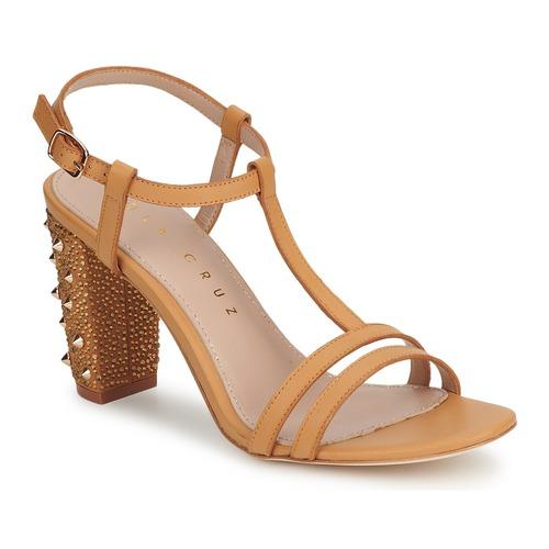 Zapatos de mujer baratos zapatos de mujer Zapatos especiales Lola Cruz STUDDED Beige / Tan