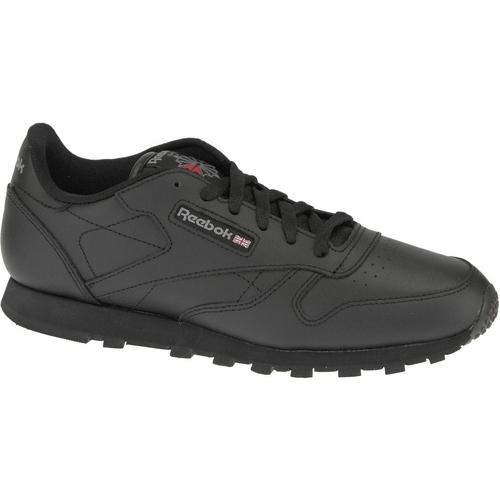 Zapatos Niño Zapatillas bajas Reebok Sport Classic Leather  50149 Negro