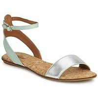 Zapatos Mujer Sandalias Lucky Brand COVELA Mint / Silver
