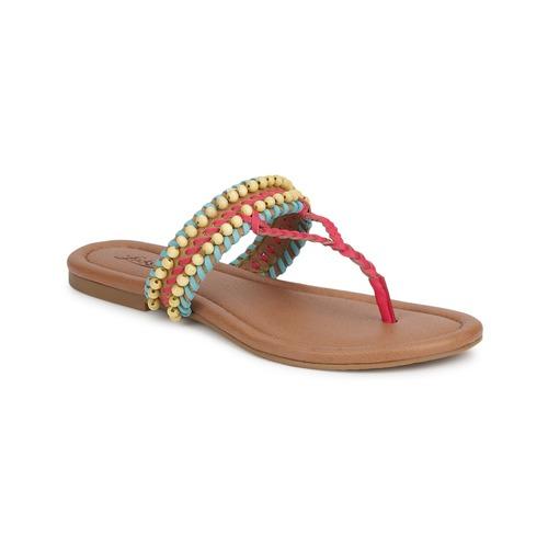 Azul Zapatos Mujer Lucky Dollis Teaberry Capri Sandalias Brand DarkCamel c3L5qARj4
