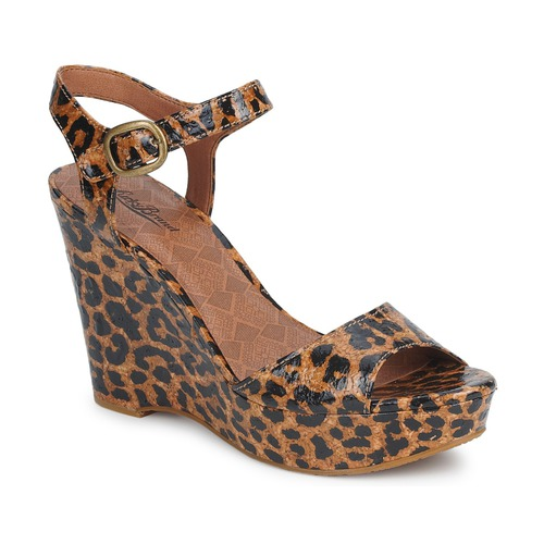 Venta de liquidación de temporada Lucky Brand LINDEY Luxe / Leopardo - Envío gratis Nueva promoción - Zapatos Sandalias Mujer  Luxe / Leopardo