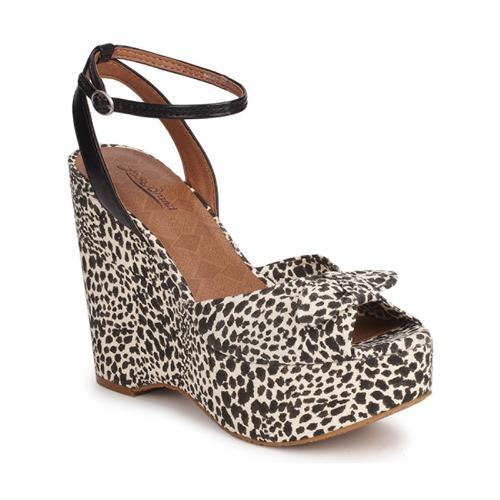 Zapatos Mujer Sandalias Lucky Brand VIERA Negro / Blanco