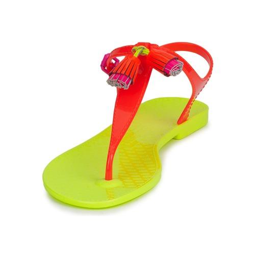 Mujer Couture NeónNaranja Juicy Sandalias Wisp Zapatos eHWDE29IY