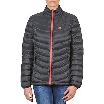 textil Mujer plumas Salomon Jacket HALO DOWN JACKET W BLACK Negro