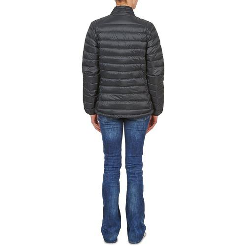 Halo Negro Plumas Salomon Textil Mujer Jacket Down Black W 4Ac5Rjq3L