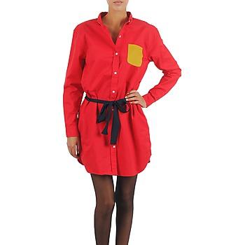 textil Mujer Vestidos cortos Petit Bateau CASH Rojo