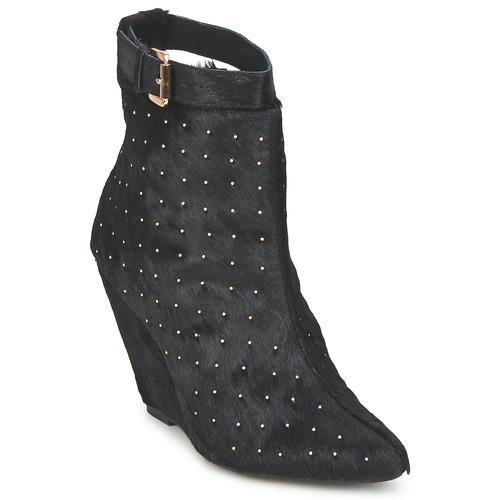 Zapatos casuales salvajes Zapatos especiales Friis & Company KANPUR Negro