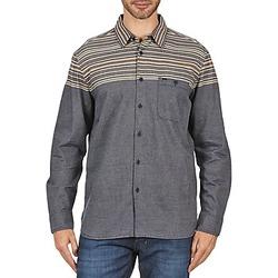 textil Hombre camisas manga larga Element LENOX Gris