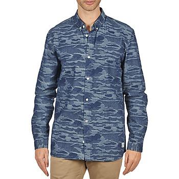textil Hombre camisas manga larga Suit ROD Azul
