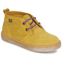 Zapatos Niño Botas de caña baja El Naturalista KEPINA Amarillo