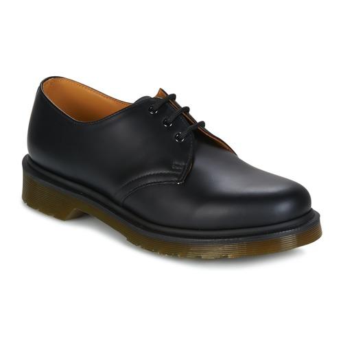 Zapatos especiales para hombres y mujeres Dr Martens 1461 PW Negro