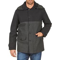textil Hombre Abrigos Aigle SHERPAFIELD Negro / Gris