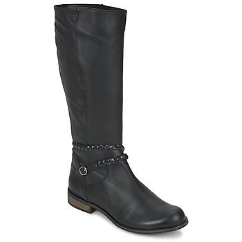 Zapatos Mujer Botas urbanas So Size BERTOU Negro