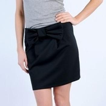 textil Mujer Faldas Tcqb JUPE SALLY NOIRE Negro