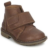 Zapatos Niño Botas de caña baja Citrouille et Compagnie MELDUNE Marrón