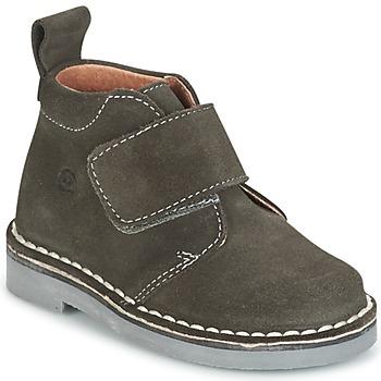 Zapatos Niños Botas de caña baja Citrouille et Compagnie ISINI Gris