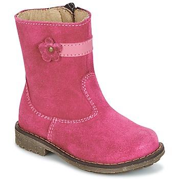 Zapatos Niña Botas de caña baja Citrouille et Compagnie PISTY Fucsia