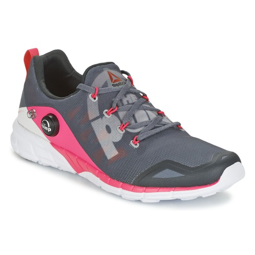Zapatos Mujer Running / trail Reebok Sport REEBOK ZPUMP FUSION Gris / Rosa