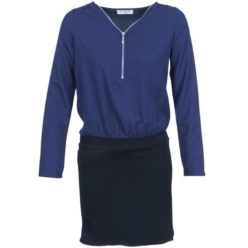 textil Mujer vestidos cortos Betty London DEYLA Negro / Marino