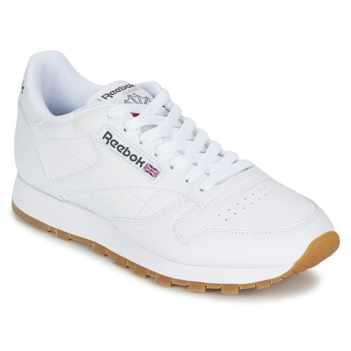 Zapatos promocionales Reebok Classic CLASSIC LEATHER Blanco  Los últimos zapatos de descuento para hombres y mujeres