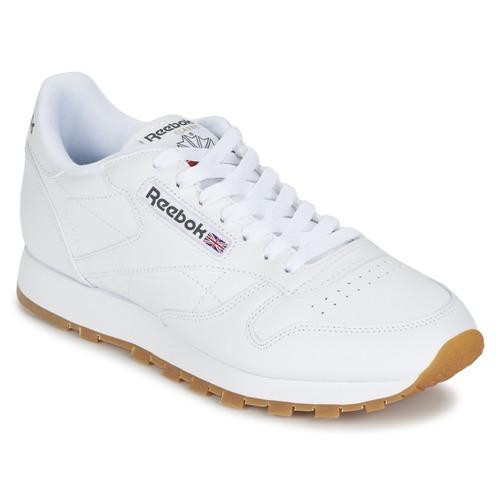 Zapatos Zapatillas bajas Reebok Classic CLASSIC LEATHER Blanco