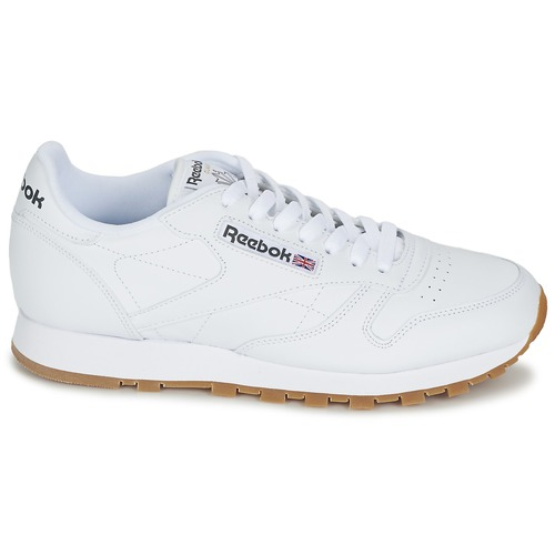 Zapatos Zapatillas Bajas Reebok Classic Blanco Leather CeEQBorWdx