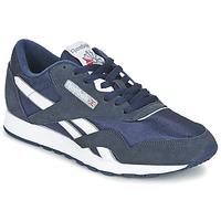 Zapatos Mujer Zapatillas bajas Reebok Classic CLASSIC NYLON Azul