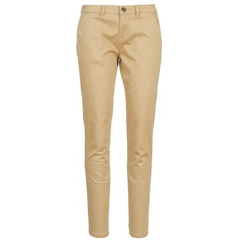 textil Mujer pantalones chinos Casual Attitude DOMINO Beige